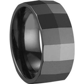 Ceramic wedding band.