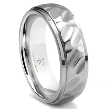 Cobalt Wedding Band.