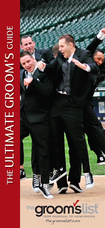 The Groom's List Ultimate Groom's Guide Cover.