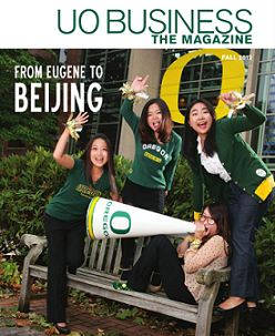 The UO Business Magazine.