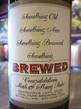 Wedding Beer Label