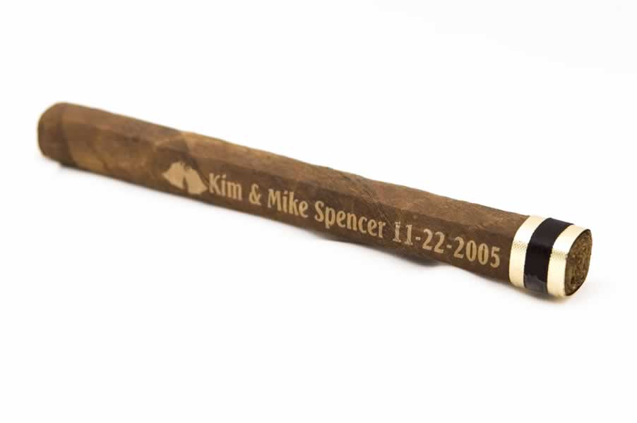 Engraved Cigar.