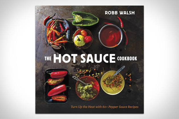 A book of hot sauce recipes.