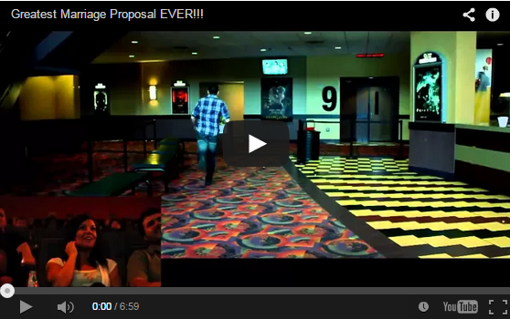 Move time marriage proposal video.