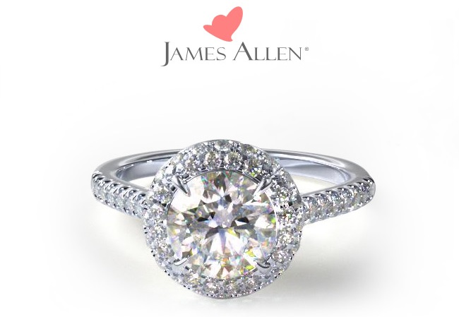 James Allen diamond ring.
